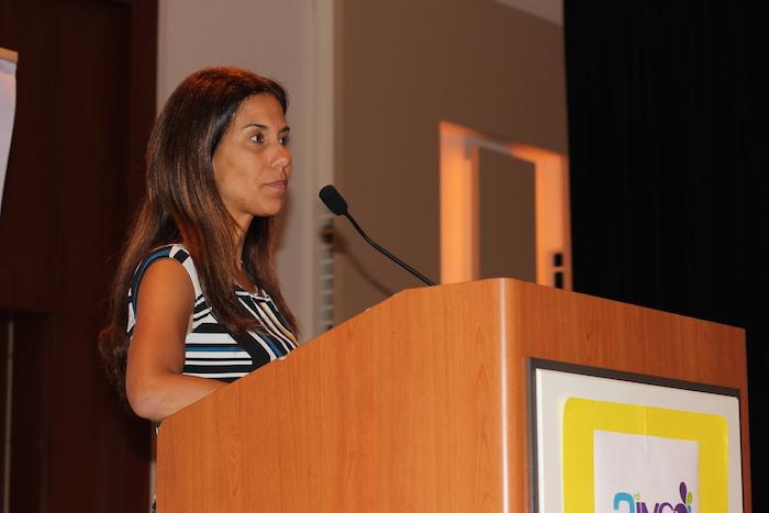 Ana Patricia Ortiz, epidemióloga, comentó sobre la importancia de vacunarse contra el VPH. (Miledis Sánchez / La Voz)