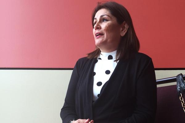 La doctora Iris Cardona exhortó a las madres a que vacunen a sus hijos y rechazó que la vacuna represente algún peligro para las personas. (Foto por Christopher Soto)